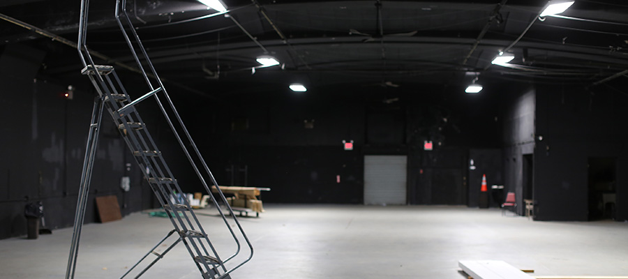 The Black Box: a sound stage at the Sands Point Preserve