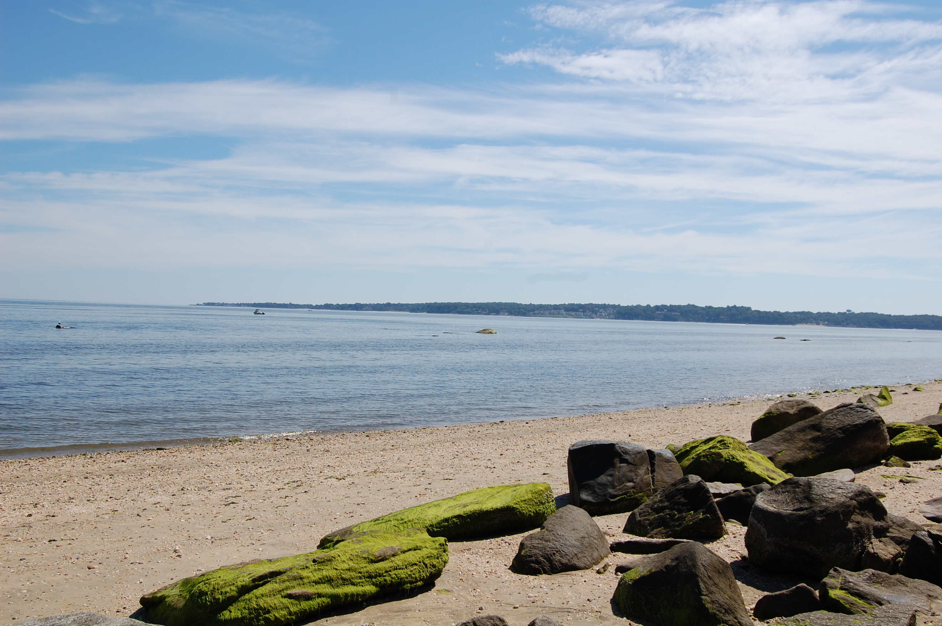 Shore of the Long Island Sound