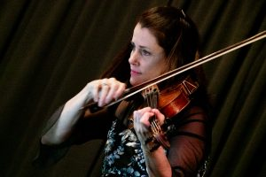 Kathryn Lockwood playing viola