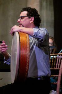 Percussionist Yousif Sheronick