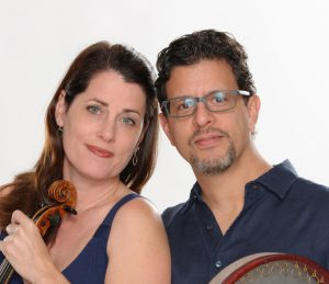 DuoJalal - Kathryn Lockwood, violist and Yousif Sheronick, percussionist
