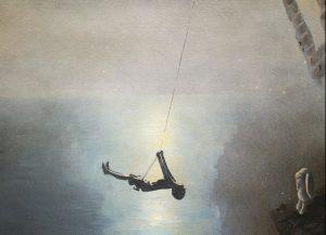 Arthur swinging