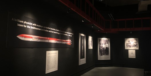 Goddard Connection exhibition room