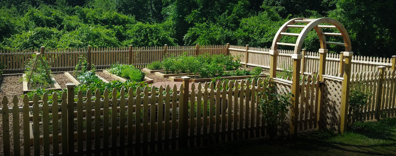 The Sands Point Preserve vegetable garden