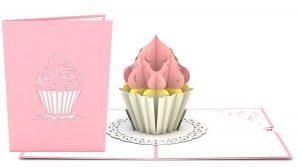 Cupcake 3D Card