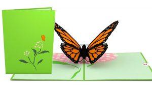 Monarch Butterfly 3D Card